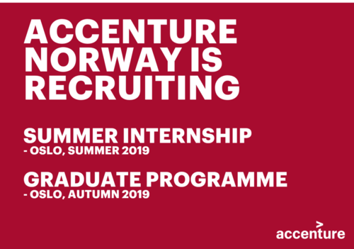 Accenture Norway Recruiting image